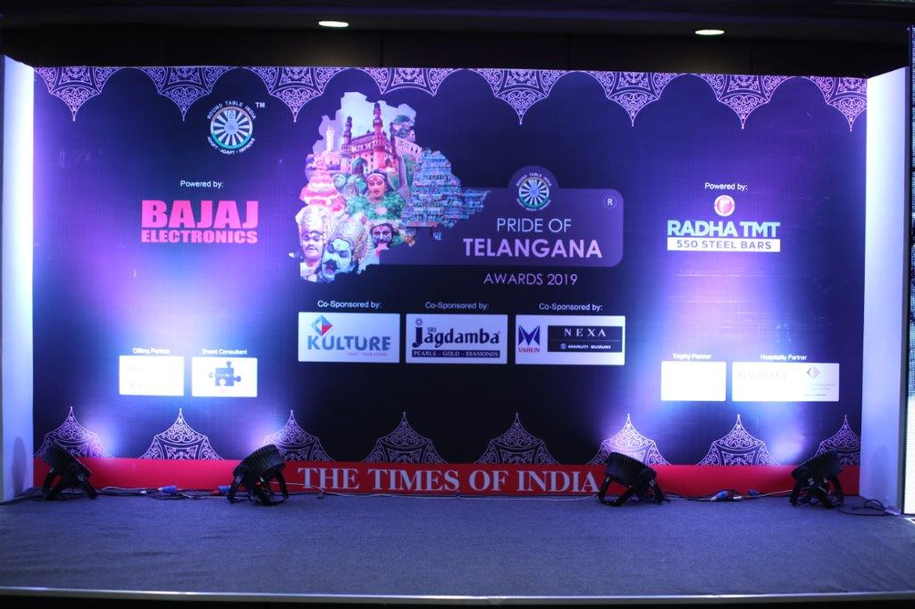 Launch of Pride of Telangana Awards 2019 - Press Conference